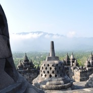 Picture of the Day: View atop Borobudur Temple in Indonesia