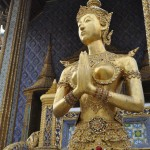Golden figure at Royal Palace Bangkok
