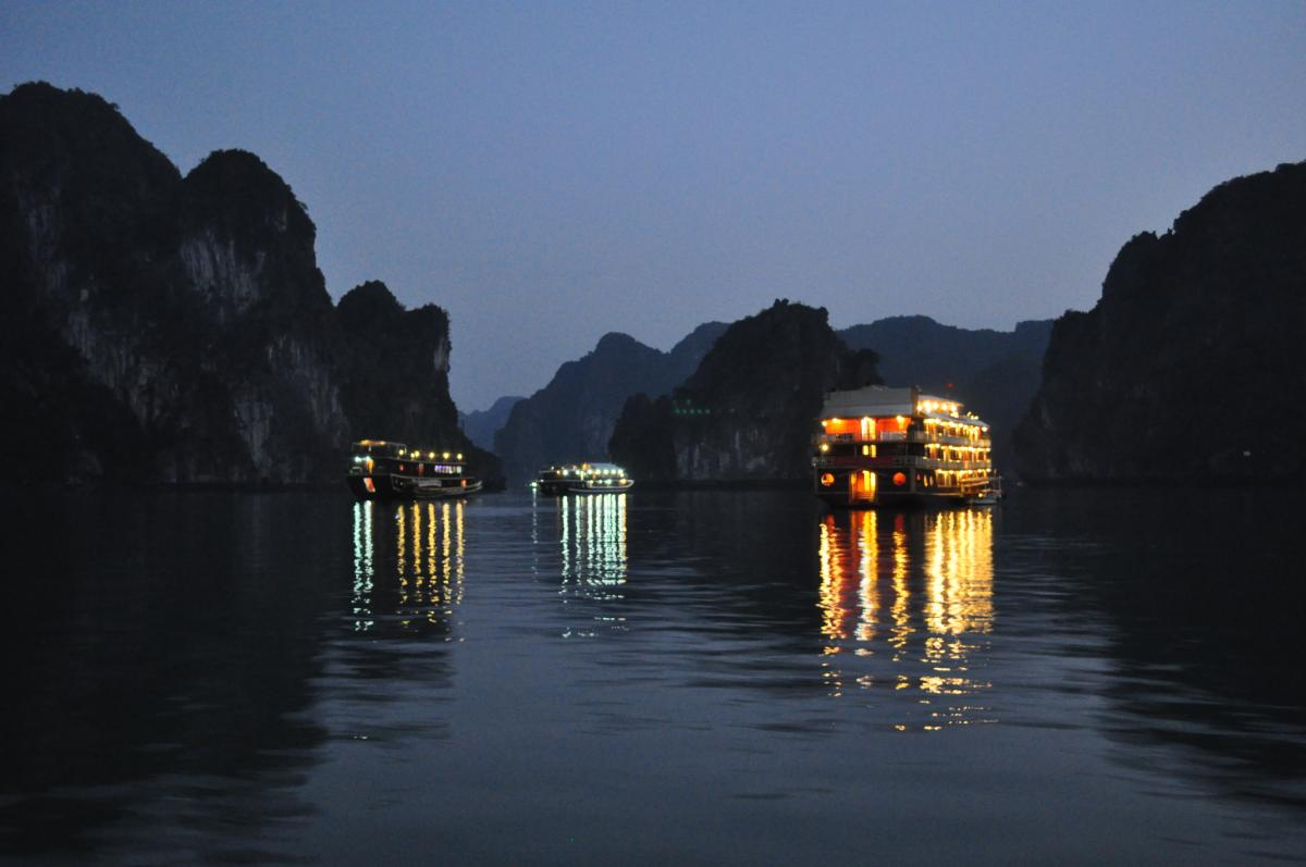 Enter the Dragon: Halong Bay, Vietnam