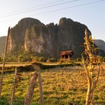 Countryside in Vang Vieng, Laos