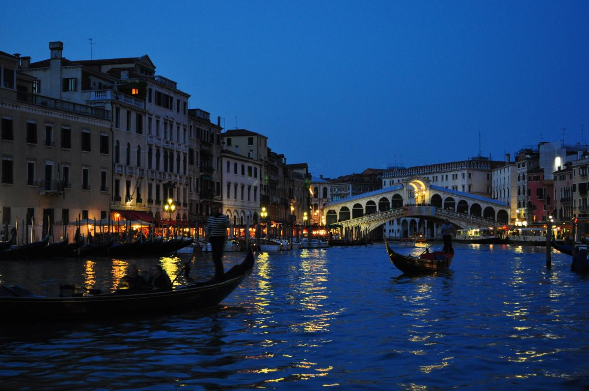 Nighttime in Venice